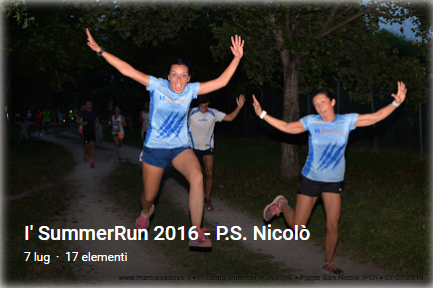 1' SummerRun 2016 P.S. Nicolò