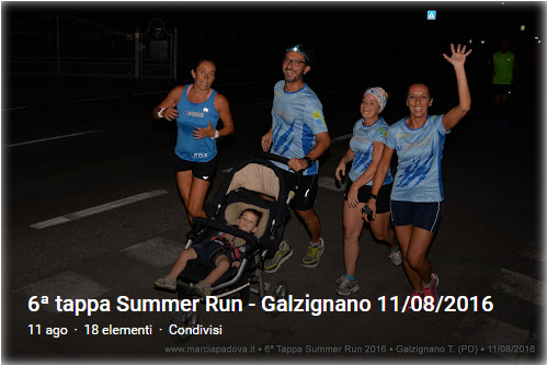 6° Summer Run Galzignano
