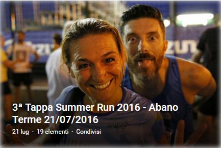 3' SummerRun 2016 - Abano Terme