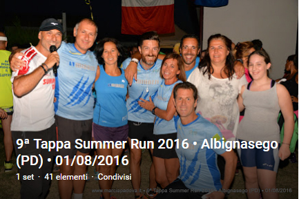 9a Summer Run - Albignasego