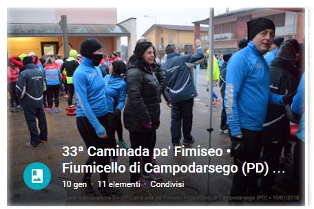 33' Caminada pa' Fimiseo - Fiumicello
