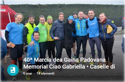 40 Marcia dea Gaina Padovana - Caselle