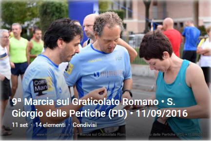 9a Marcia sul Graticolato Romano - S.G. Pertiche