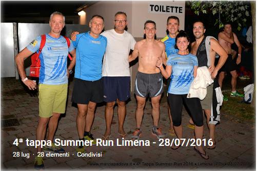 4' Summer Run a Limena