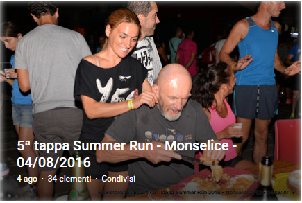 5' Summer Run - Monselice