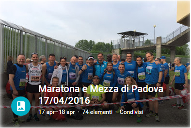 Maratona e Mezza di Padova 2016