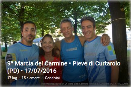 Marcia del Carmine - Pieve di Curtarolo