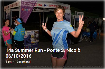 14 Summer Run - Ponte S. Nicolò