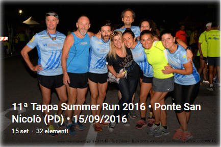 11' Summer Run - BeAktive P.S. Nicolò