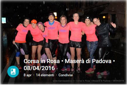 Corsa in Rosa - Maserà