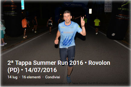 2' SummerRun 2016 - Rovolon