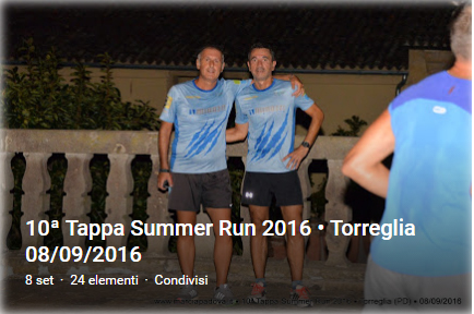 10a Summer Run a Torreglia