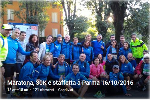 Album della Maratona, 30K e staffetta a Parma
