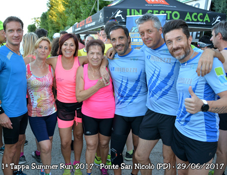 1ª Tappa Summer Run 2017 • Ponte San Nicolò (PD) • 29/06/2017