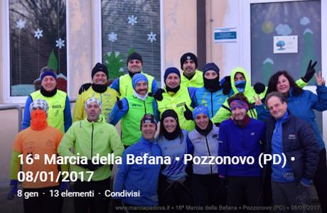 16' marcia della Befana - Pozzonovo