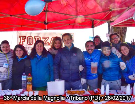 36ª Marcia della Magnolia • Tribano (PD) • 26/02/2017