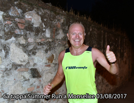 6a tappa Summer Run a Monselice 03/08/2017