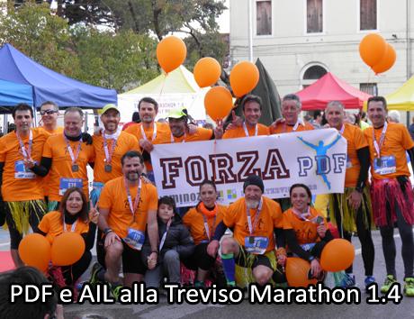 PDF e AIL alla Treviso Marathon 1.4 - Conegliano (TV) 05/03/2017
