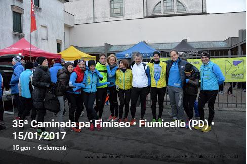 35ª Caminada pa' Fimiseo • Fiumicello