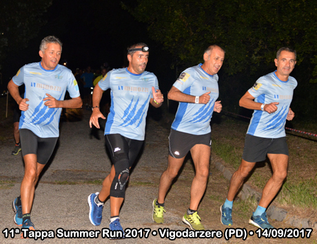 11ª Tappa Summer Run 2017 • Vigodarzere (PD) • 14/09/2017