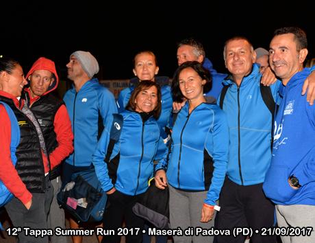 12ª Tappa Summer Run 2017 • Maserà di Padova (PD) • 21/09/2017