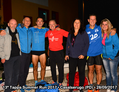 13ª Tappa Summer Run 2017 • Casalserugo (PD) • 28/09/2017