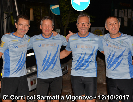 5ª Corri coi Sarmati a Vigonovo • 12/10/2017
