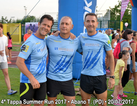 4ª Tappa Summer Run 2017 • Abano T. (PD) • 20/07/2017