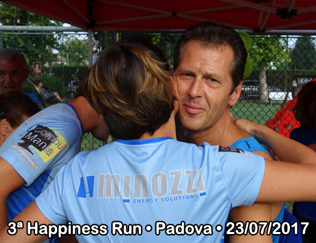 3ª Happiness Run • Padova • 23/07/2017