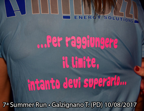 7ª Summer Run • Galzignano T. (PD) 10/08/2017