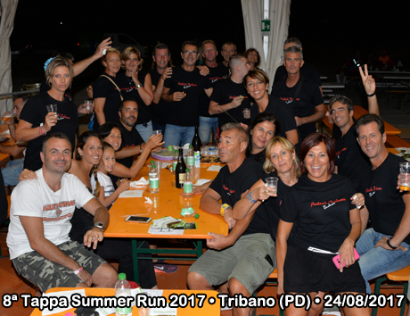 8ª Tappa Summer Run 2017 • Tribano (PD) • 24/08/2017