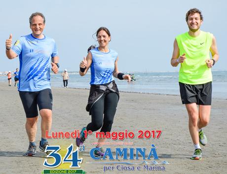 34 caminà per Ciosa e Marina - Chioggia - 01/05/2017
