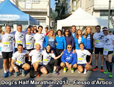 Dogi's Half Marathon - Fiesso d'Artico - 08/04/2017