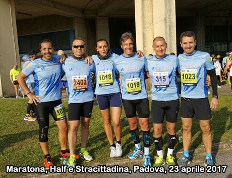 Maratona, Half e Stracittadina a Padova, 23 aprile 2017