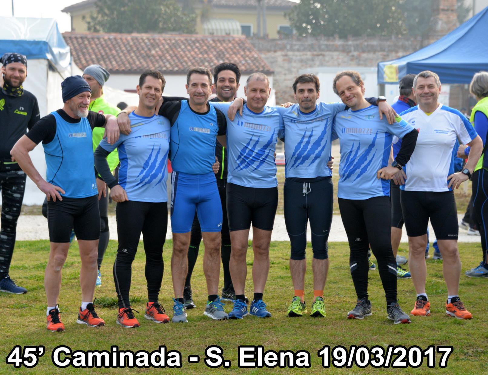 """45ª """"Caminada"""" • Sant'Elena (PD) • 19/03/2017"""