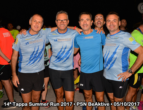14ª Tappa Summer Run 2017 • Ponte S. Nicolò - Palestra BeAktive (PD) • 05/10/2017