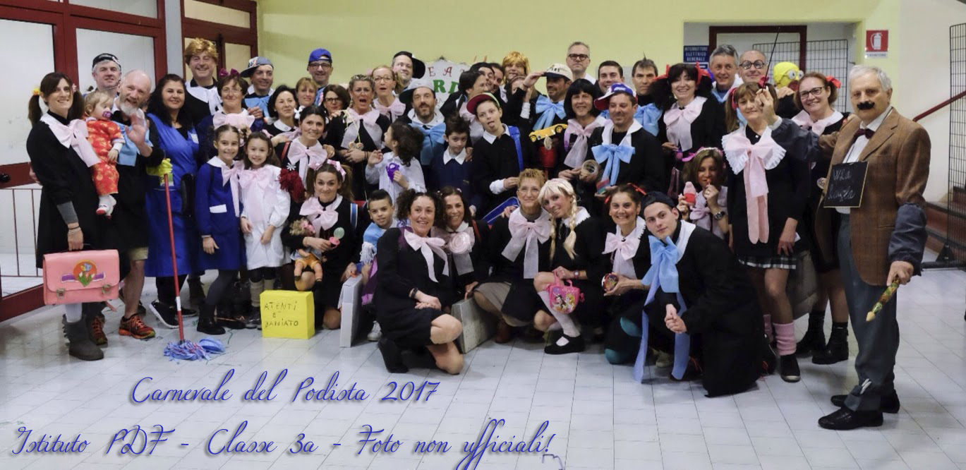 Carnevale del Podista, 2017 - Foto non ufficiali!