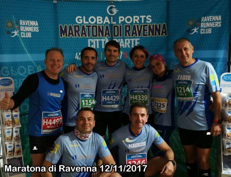 Maratona di Ravenna 12/11/2017
