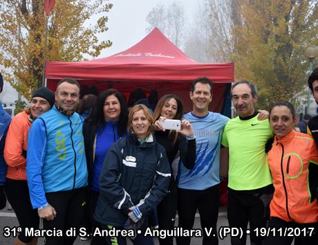31ª Marcia di S. Andrea • Anguillara V. (PD) • 19/11/2017