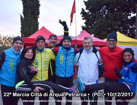 22ª Marcia Città di Arquà Petrarca • Arquà Petrarca (PD) • 10/12/2017