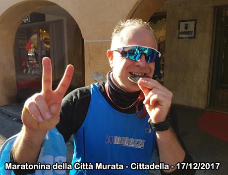 Maratonina della Città Murata - Cittadella - 17/12/2017