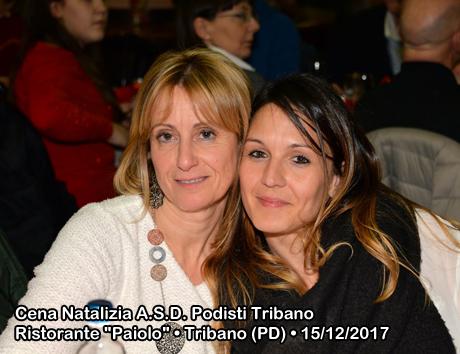 """Cena Natalizia A.S.D. Podisti Tribano Ristorante """"Paiolo"""" • Tribano (PD) • 15/12/2017"""