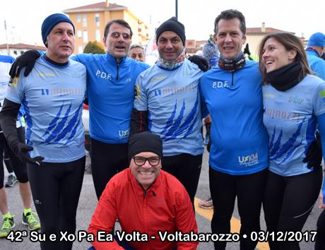 42ª Su e Xo Pa Ea Volta - Voltabarozzo • 03/12/2017
