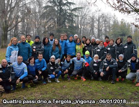 Quattro passi drio a Tergola - Vigonza - 06/01/2018
