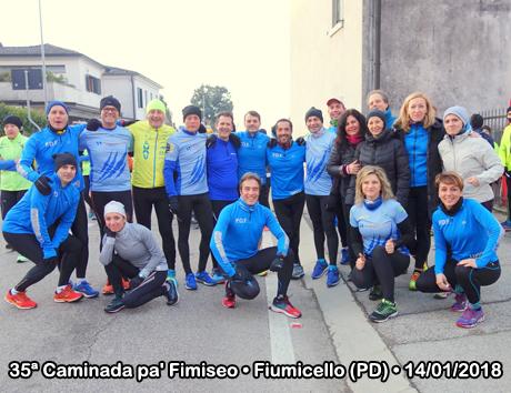 35ª Caminada pa' Fimiseo • Fiumicello di Campodarsego (PD) • 14/01/2018