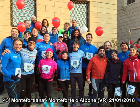 43' Montefortiana - Monteforte d'Alpone (VR) 21/01/2018