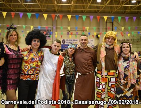Carnevale del Podista 2018 - Casalserugo - 09/02/2018