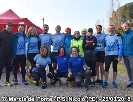 8' Marcia del Ponte - P.S. Nicolò (PD) - 25/03/2018