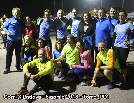 Corri X Padova - 5 aprile 2018 - Torre (PD)