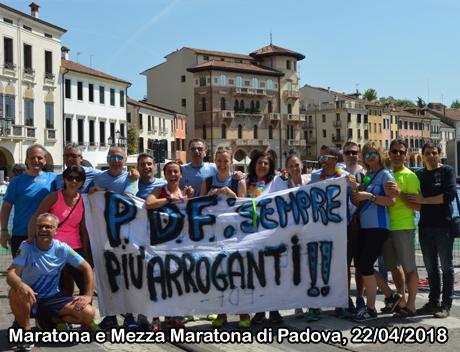 Maratona e MezzaMaratona di Padova, 22/04/2018